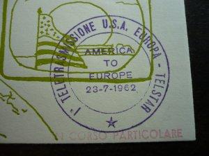 Europa 1961 - Italy - Postal History - Telstar