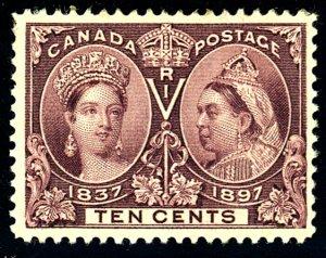 Canada #57 MINT OG HR