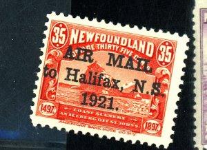 NEWFOUNDLAND #C3 MINT F-VF OG NH Cat $145