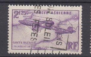 J29310, 1936 france used #c7 airplane