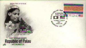 Palau, First Day Cover