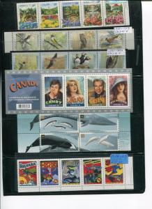 Canada nice lot of Strips and Sheets  Mint  VF NH