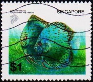 Singapore. 2001 $1 S.G.1137 Fine Used