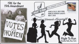 2016, Right to Run, Seneca Falls NY, Women's Rights, 19K, Pictorial, 16-104