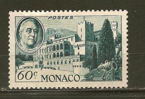 Monaco 200 Franklin D Roosevelt Mint No Gum