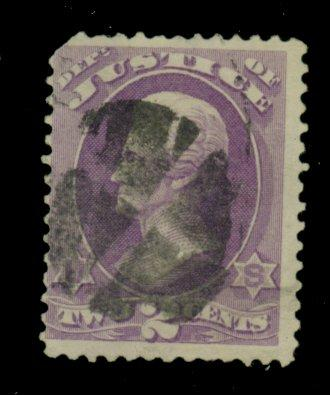O26 Used Fine Pulled corner perf Cat$110