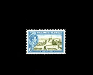 BAHAMAS - 1938 - KG VI - FORT CHARLOTTE - # 107 - MINT - MNH SINGLE!