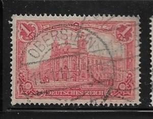 Germany Mi. #94 A I / Sc. #92  used L91