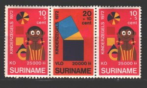 Suriname. 1972. 638.40. Happy childhood. MNH.