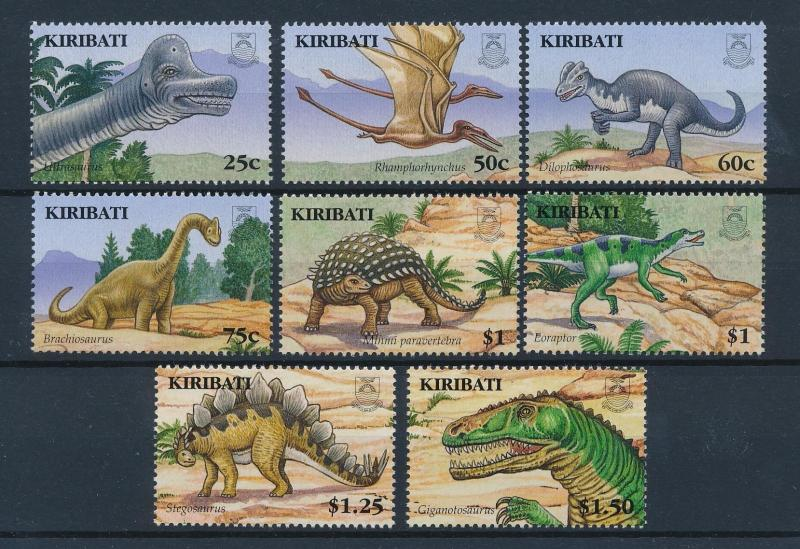 [41557] Kiribati 2006 Pre Historic Animals Dinosaurs MNH