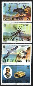 Isle Of Man. 1979. 138-41. Isle of Man, fauna, dragonfly. MNH.