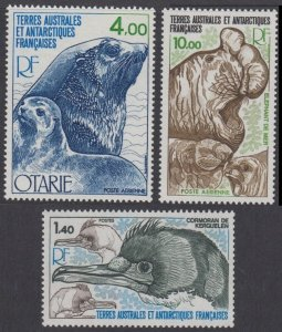 1979 French Antarctic Territory 130-32 Sea fauna 17,00 €