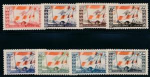 Lebanon 181-188 Mint NH Flags