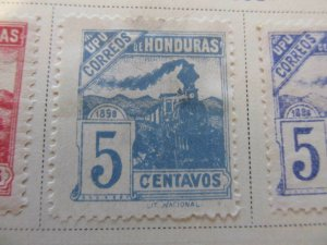 Honduras 1898 5c fine mng stamp A11P12F30