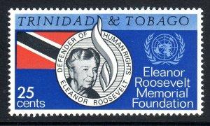 TRINIDAD  AND TOBAGO--1965    Eleanor  Roosevelt    -  mnh um