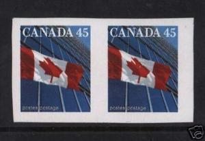 Canada #1326ii XF/NH Imperf Pair
