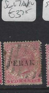 MALAYA PERAK (P0702B)  QV  2C  SG 17   VFU