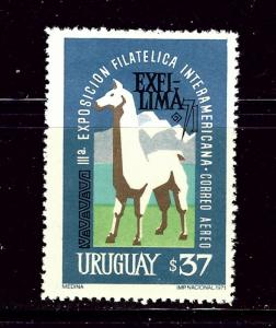 Uruguay C381 MNH 1971 Llama