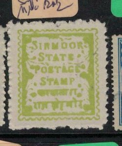 India Sirmoor SG 3 Thin Soft Paper MNG (8etw)