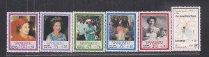 VANUATU SC# B1-6   FVF/MNH   1987