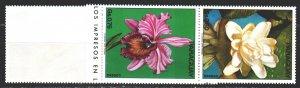 Paraguay. 1973. 2525-31. Flowers, flora. MNH.