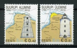 2010 Estonia 662-663 Beacons