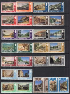 Gibraltar 241-272 Unused Mint Hinged BIN