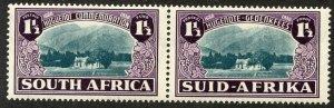 South Africa, Scott #B11, Unused, Hinged pair