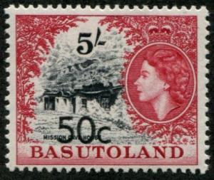 Basutoland SC# 70 (SG# 67a) Scenes New Values, MH
