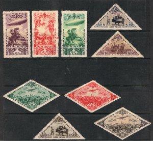 TANNU TUVA 1936 AIRMAIL