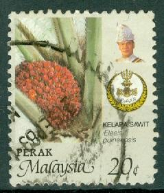 Malaysia - Perak - Scott 165