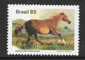 BRAZIL SG2134 1985 1500cr HORSES MNH
