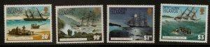 PITCAIRN ISLANDS SG450/3 1994 SHIPWRECKS  MNH