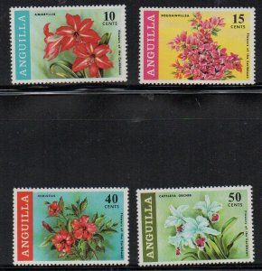 ANGUILLA - FLOWERS - ORCHIDS - 1969 -