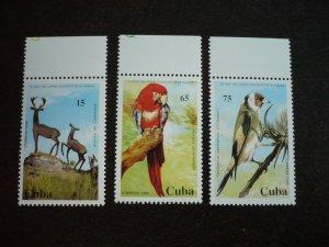 Stamps - Cuba - Scott#3610-3612 - MNH Set of 3 Stamps