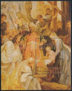 Gambia stamp Rubens paintings block MNH 1995 Mi 268 WS243732