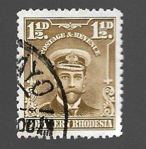 Southern Rhodesia 1924 - U - Scott #3 *