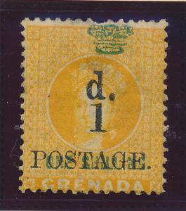 Grenada Stamp Scott #28, Mint Hinged, Some Gum - Free U.S. Shipping, Free Wor...