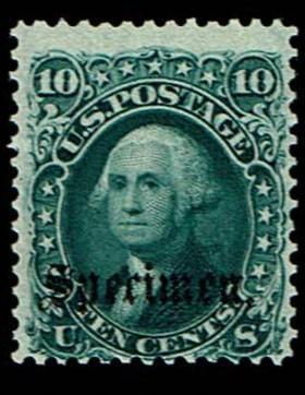 Scott #68S-B Fine-OG-LH. SCV - $200.00