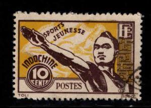 Indo-China Scott 241 Used 1944 Sports stamp