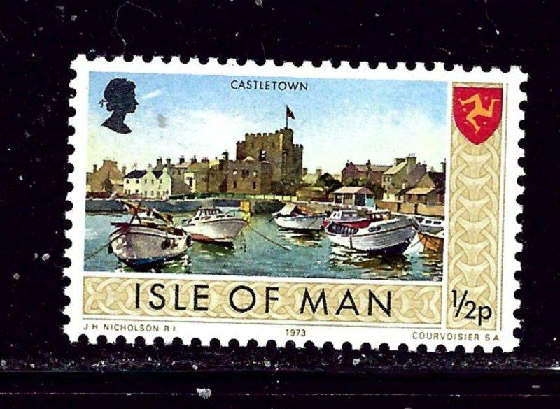 Isle of Man 12 MNH 1973 issue        (Bon)
