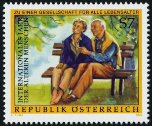 Austria 1796 MNH International Year of Older Persons