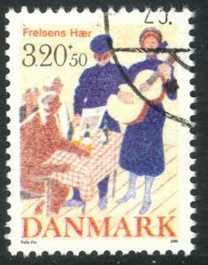 DENMARK 1989 SALVATION ARMY Semi Postal Issue Sc B74 VFU