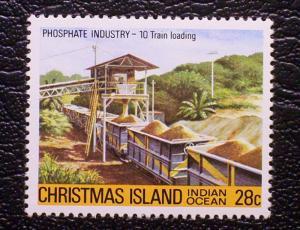 Christmas Island Scott #104 unused