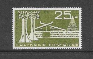 FRENCH POLYNESIA #C34 GAUGUIN MUSEUM  MH
