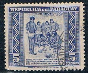Paraguay Natives 5 - pickastamp (PP8R704)