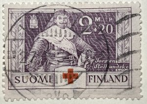 AlexStamps FINLAND #B16 VF Used