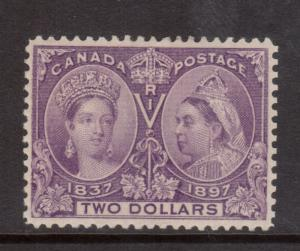 Canada #62 XF Mint **With Certificate**