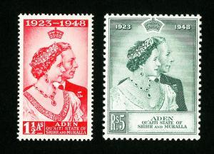 Aden Kathri Stamps # 14-15 VF OG NH