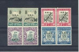 South West Africa Scott B1-B4     [ID#433381]